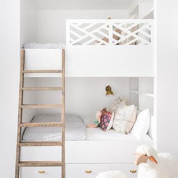 Trellis Bunk Bed Railing Design Ideas