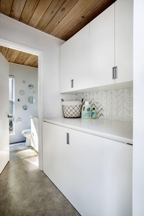 White Quartz Countertop Bathroom