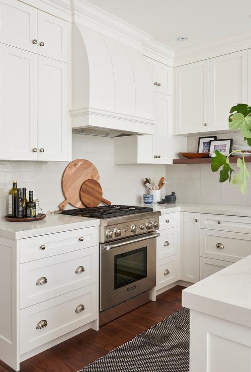 Black And White Kitchen Runner Design Ideas