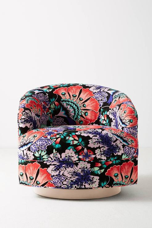 Miraculous Black Feather Bloom Amoret Swivel Chair Beatyapartments Chair Design Images Beatyapartmentscom
