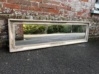 Vintage Den Library Office Old Village Paints Floor Standing Mirror In West Sus Uk Cleall Antiques