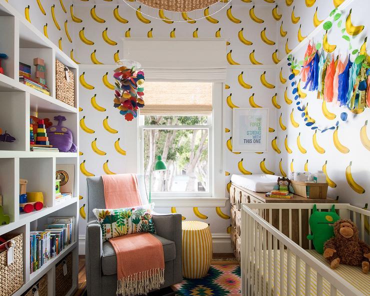 superb Tassel Garland Nursery Part - 16: Tassel Garland Over White Nursery Crib