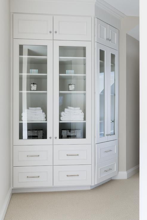 Curved Wall Built In Cabinets Design Ideas