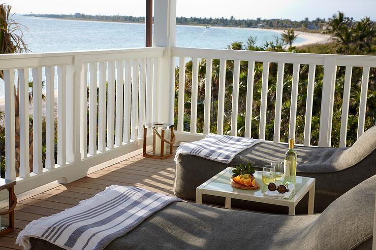 Deck patio design decor photos pictures ideas for Alyssa outdoor chaise