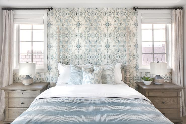 Light Blue And Light Gray Bedroom Colors