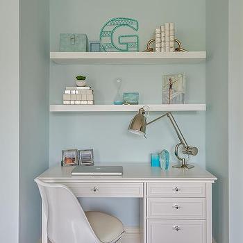 Awe Inspiring Shelves Over Desk Design Ideas Beutiful Home Inspiration Cosmmahrainfo
