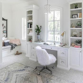 natural light white gray pink room design ideas