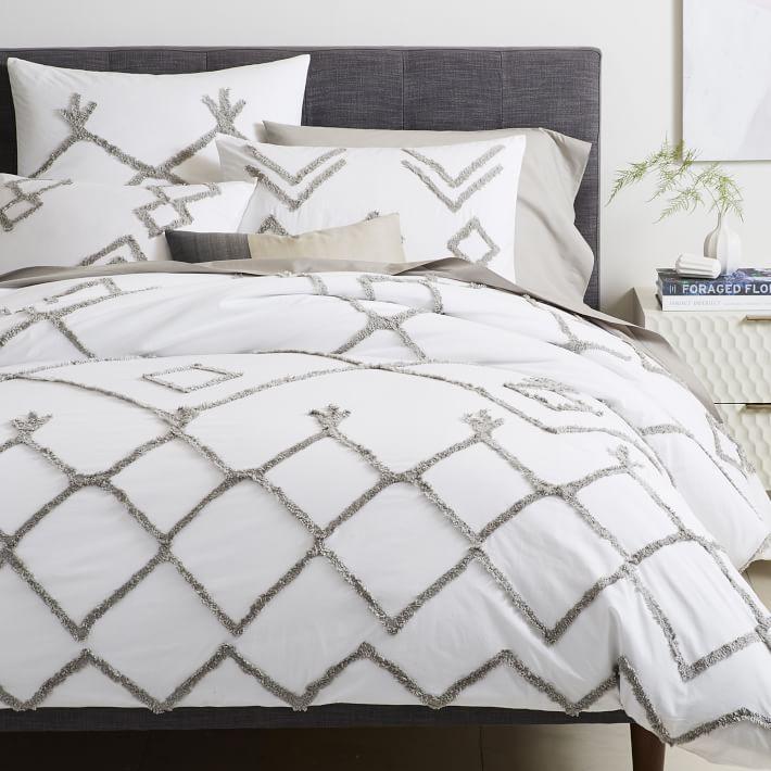 Libeco Organic Heritage White Striped Bedding