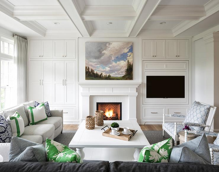 Hidden Tv Over Fireplace Design Ideas