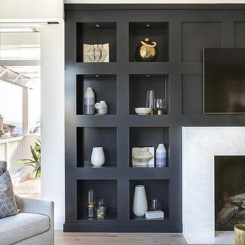 Fireplace Tv Niche Design Ideas