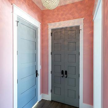 Light Pink Painted Bedroom Walls Design Ideas