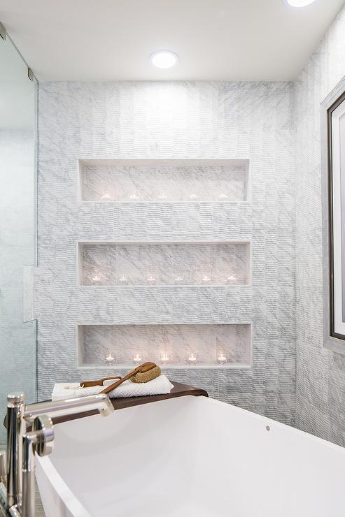 Bathtub With Built In Shelf Design Ideas