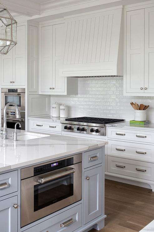 White Kitchen Tile Backsplash
