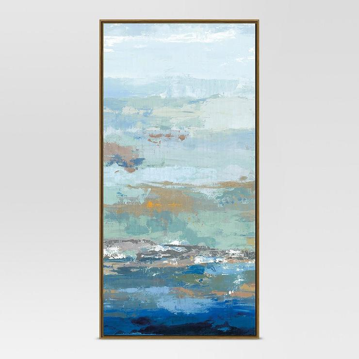 4f3b930173e Project 62 Blue Embellished Abstract Wall Art