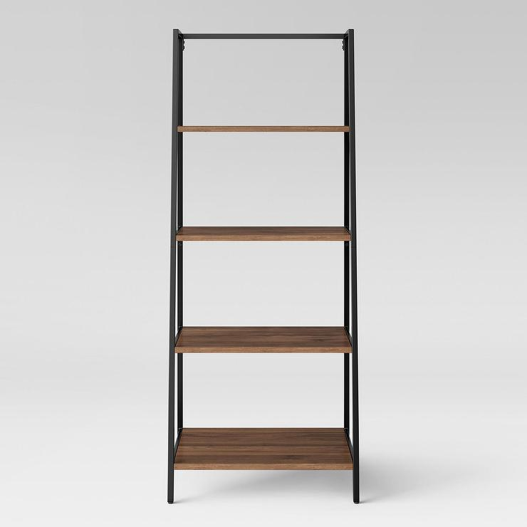 full target shelf popular in elegant trestle size bookcases shelves bookcase tar of white sauder black threshold
