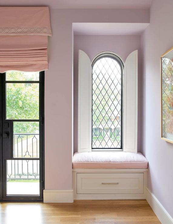 Arch Leaded Glass Window with Arch Dual Door Covers & Arch Leaded Glass Window with Arch Dual Door Covers - Transitional ...