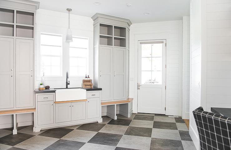 floor decor flooring checkered.htm gray and black checkered laundry room floor tiles transitional  gray and black checkered laundry room