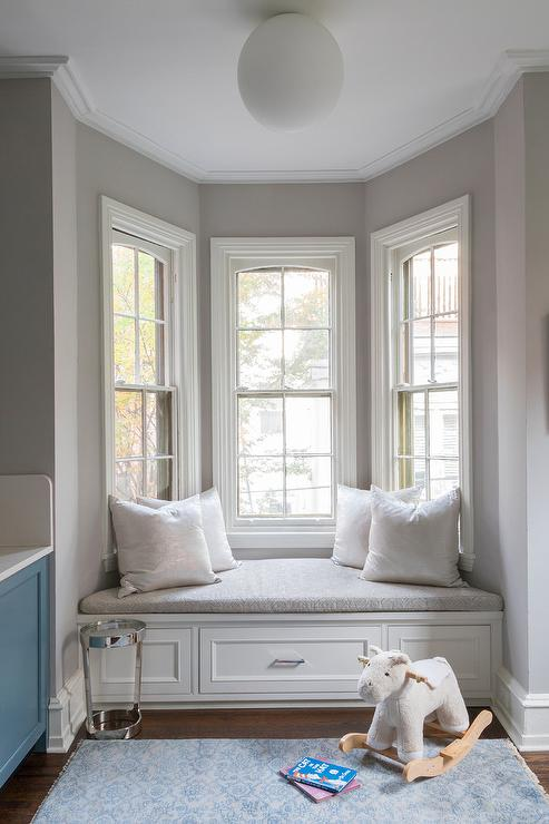 White And Grey Bedrooms Transitional Bedroom Kelly