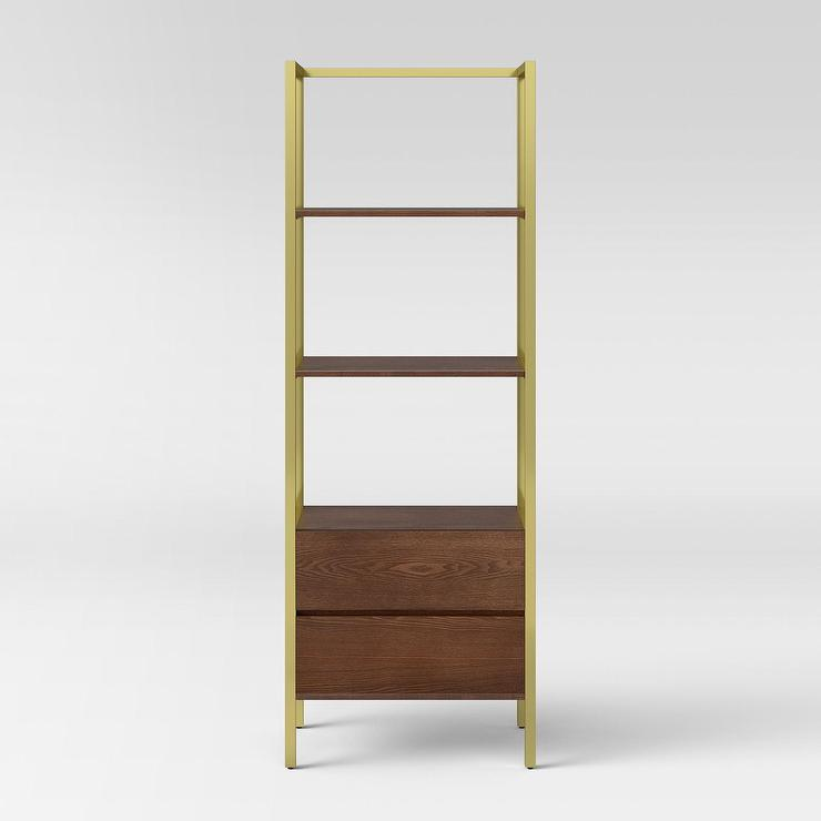 philadelphia fittings bookshelf brass nadeau product bookcase with