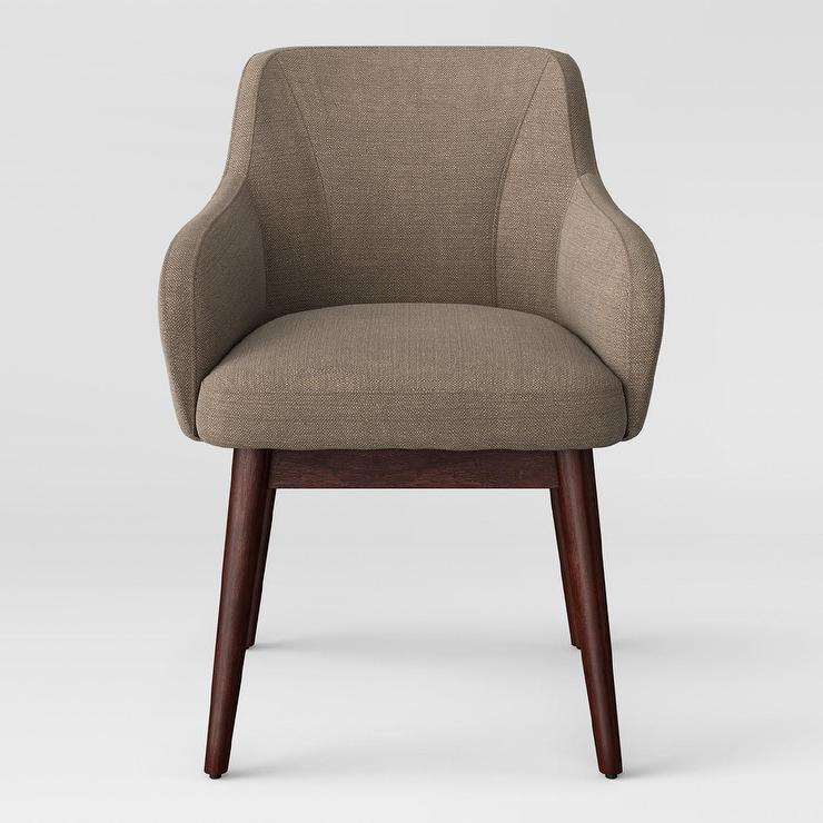 Prime Project 62 Peoria Gray Linen Wood Arm Chair Evergreenethics Interior Chair Design Evergreenethicsorg