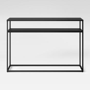 Gail S Accents 20 012et Modern Vinyl End Table Black