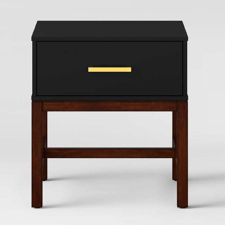 Project 62 Guthrie Matte Black Wood Side Table