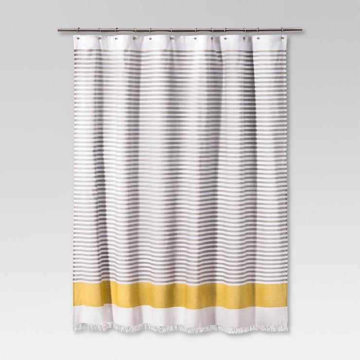 shower of large vertical coffee curtain gray striped navy and yellow horizontal size white stripe