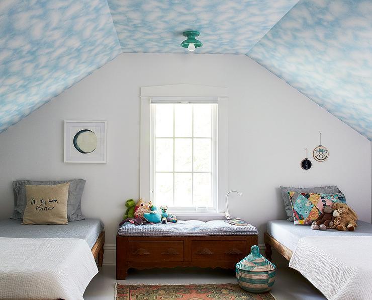 Basil Flush Mount Cottage Bedroom Benjamin Moore