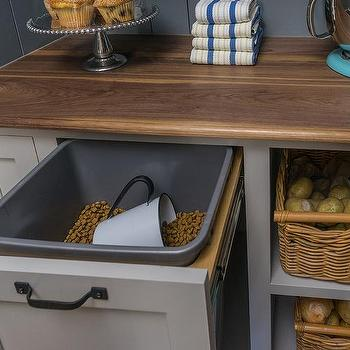 Deep Pull Out Dog Food Drawer