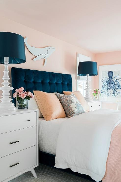 Pink And Blue Bedroom Colors Design Ideas