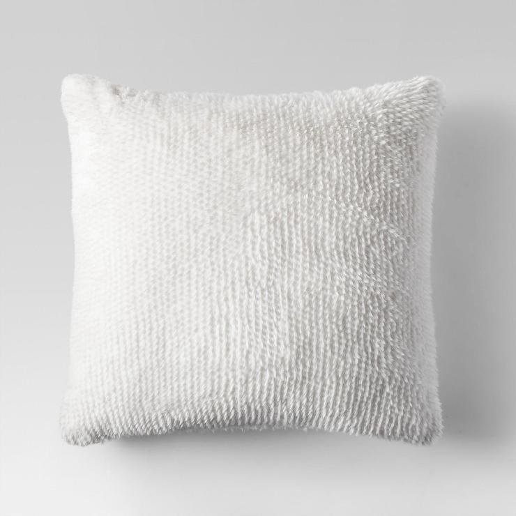 cushions au cushion pillow fine fur lit collections linens black large tibetan deco