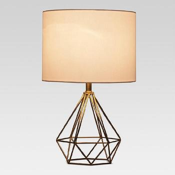 Magical thinking gold geo wire lamp project 62 entenza brass wire table lamp greentooth Images