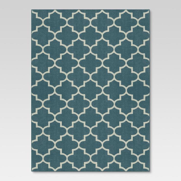 Horizon Handmade Aqua New Zealand Blend Wool Rug 8x10