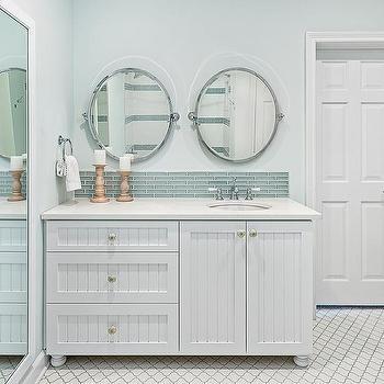 Beadboard Bath Vanity Cabinet Doors Design Ideas
