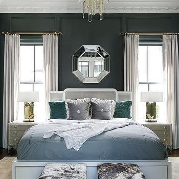 Mirror Between Bedroom Windows Design Ideas Awesome Bedroom Windows Designs