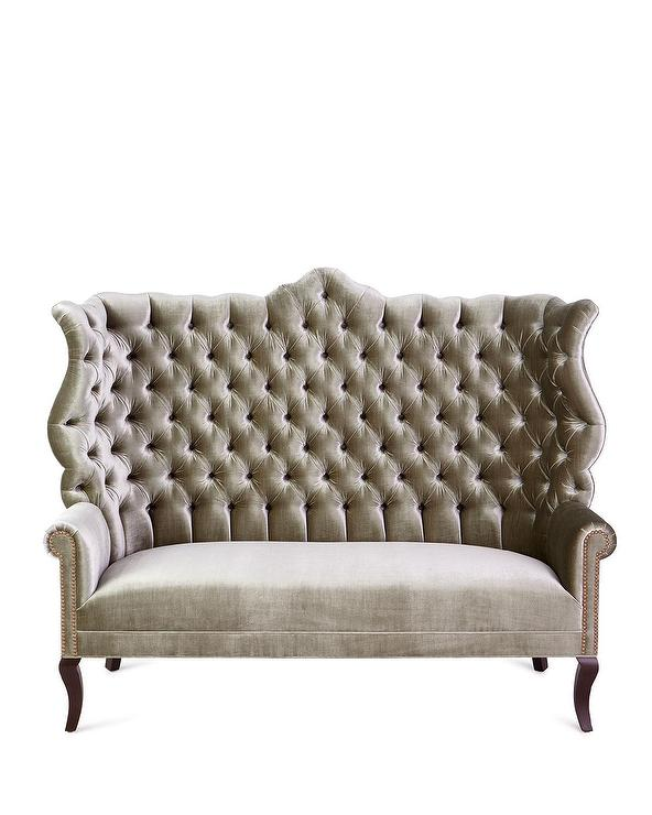 Amazing Peyton Light Green Velvet Tufted Dining Banquette Pdpeps Interior Chair Design Pdpepsorg