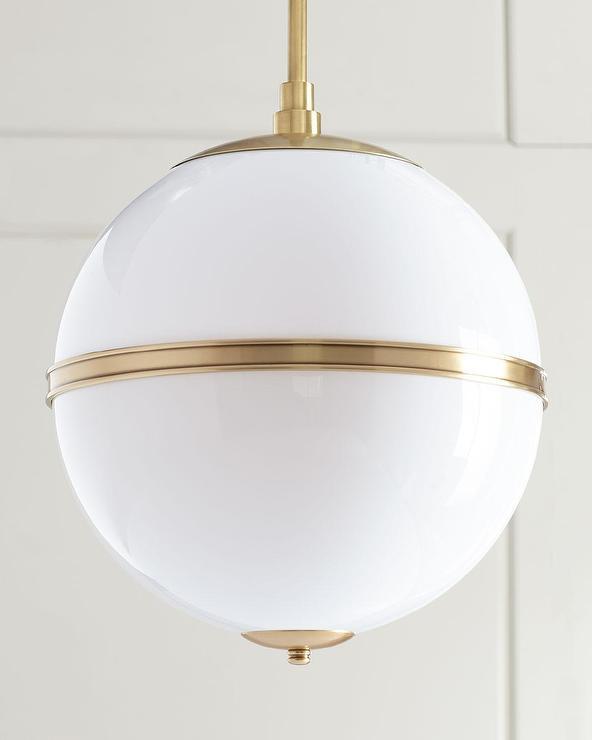 Truax Aged Brass Mini Glass Globe Chandelier