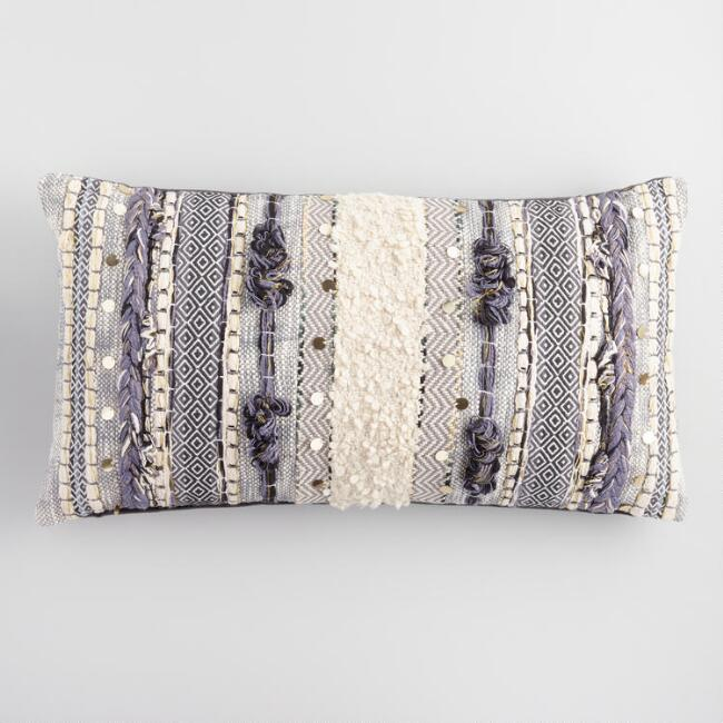 Anthropologie Lumbar Pillow