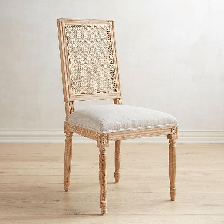 Prime Joseph Natural Whitewash Caned Back Dining Chair Caraccident5 Cool Chair Designs And Ideas Caraccident5Info