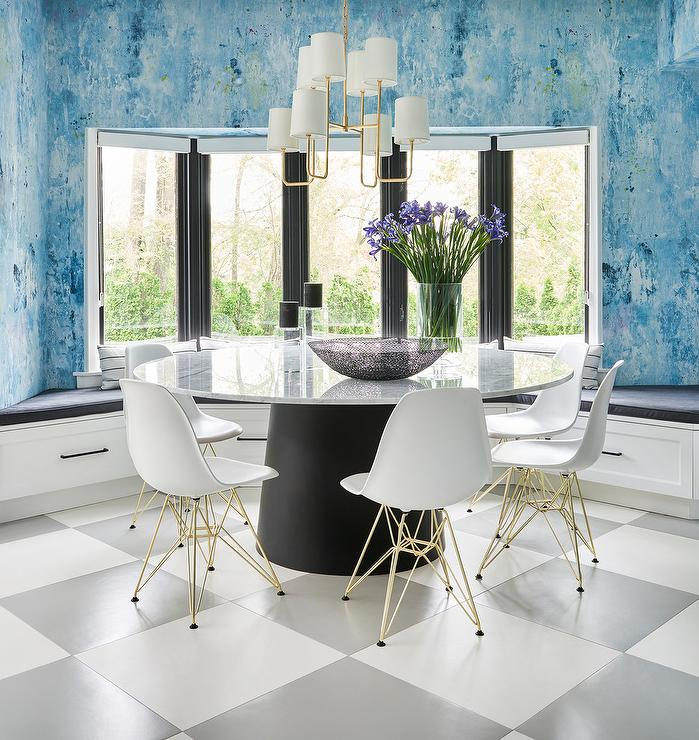 Wondrous Breakfast Nook Bay Window Dining Banquette Bench Onthecornerstone Fun Painted Chair Ideas Images Onthecornerstoneorg
