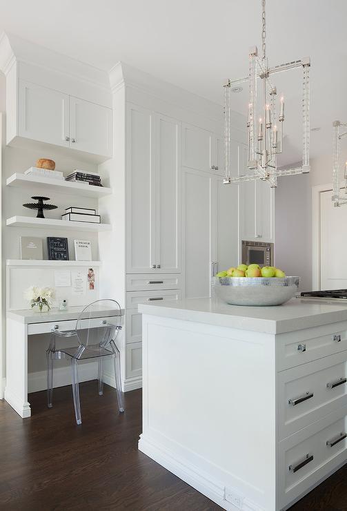 Kitchen Desk Contemporary Kitchen Sophie Burke Design