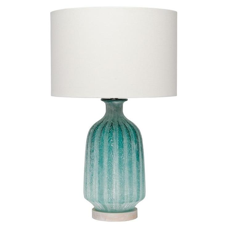 for crystal edge home chipped the aqua lamps lighting pin lamp andrew regina