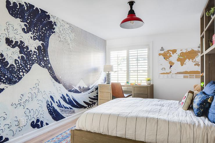 Catching Waves Wall Mural - Transitional - Boy\'s Room