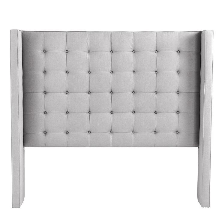 bedroom safavieh headboard lamar headboards tufted furniture kids velvet greige furnishings button