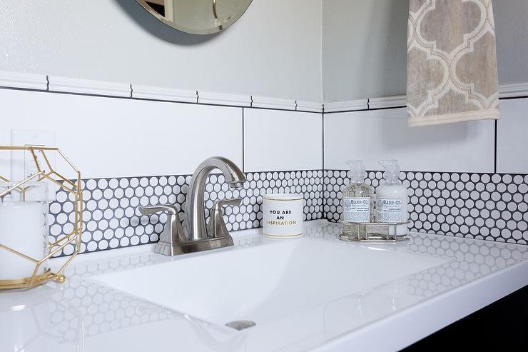 Gray Border Tiles Design Ideas