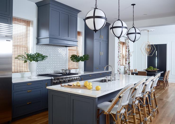 Transitional Kitchen Sherwin Williams Light French Gray