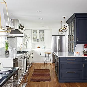 Two Tone Cabinet Doors Design Ideas