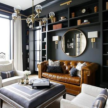 Blue And Gold Living Room Color Scheme Contemporary