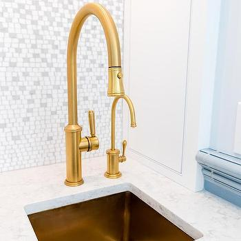 Brushed Gold Bathroom Faucet Design Ideas - Brass or gold bathroom faucets