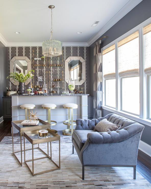 Living Room Tray Ceilings Design Ideas